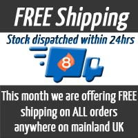 Free Shipping on UK mainland orders over £100