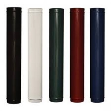 Coloured Flue Pipe