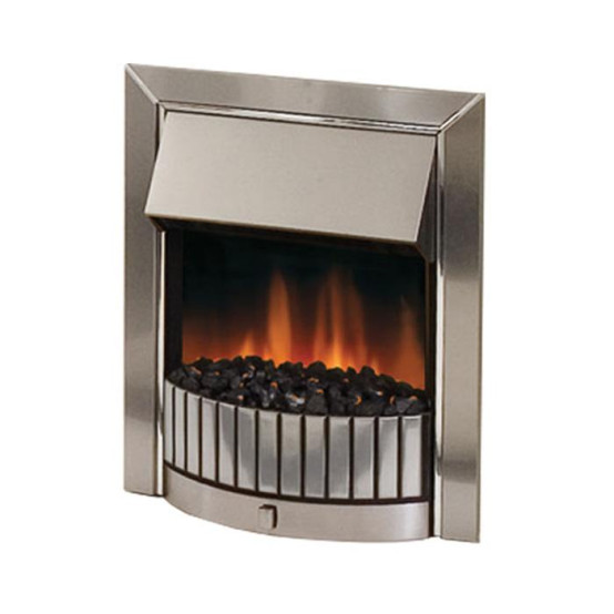 Dimplex Delius Chrome Inset Optiflame Electric Fire