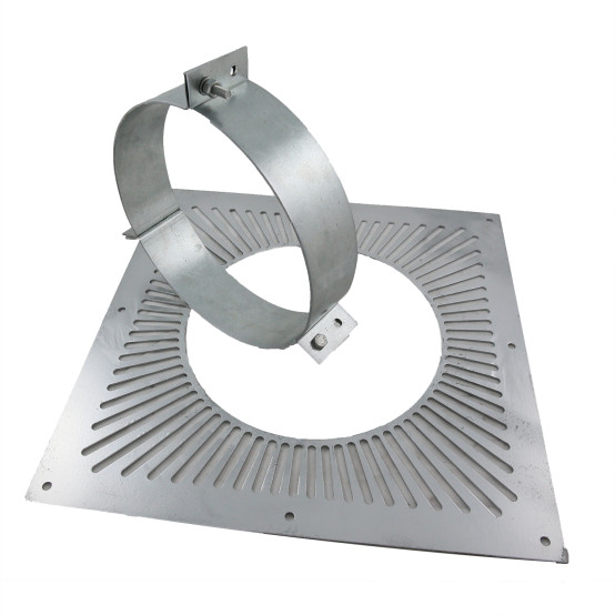 5 inch Twin Wall Ventilated Support Plate