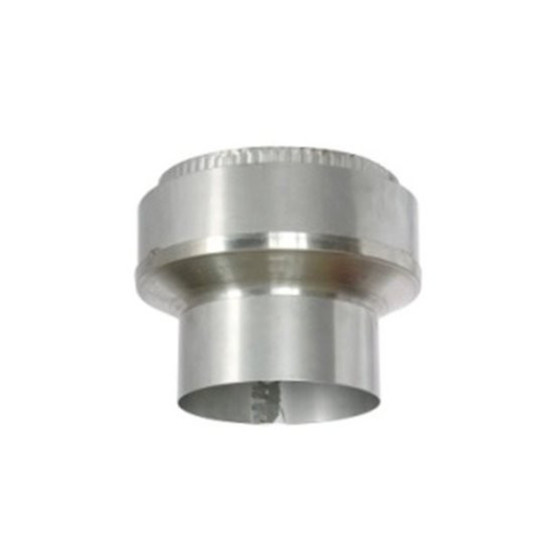 5 - 6 inch  Flexible Flue - Stove Pipe Increasing Connector Cuff