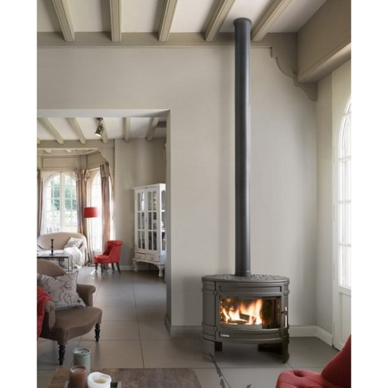 Invicta Angor 12 kW Wood Burning Stove