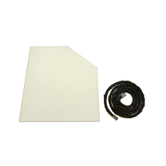 Villager VFS076 Glass & Gasket for Elite Duo