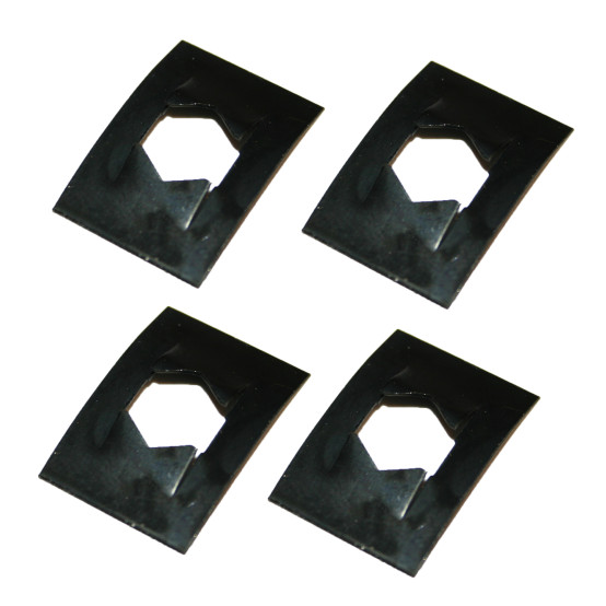 Villager VFS210 Glass Clips (Pack of 4)