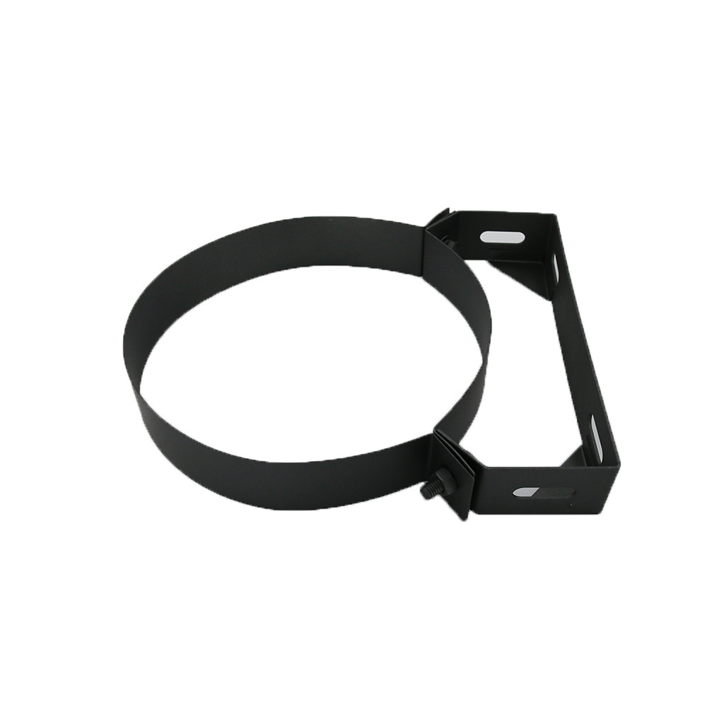 6 inch Black Twin Wall Wall Bracket