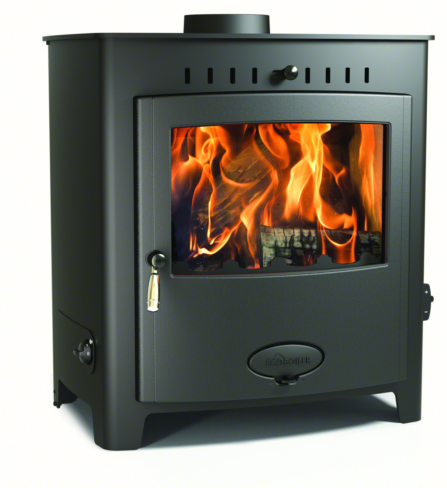 Stratford 25HE Ecoboiler Wood Burning Multi Fuel Boiler Stove
