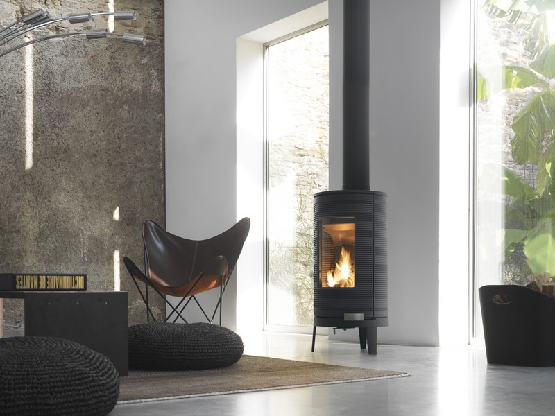 invicta okino 7 kw wood burning stove. Black Bedroom Furniture Sets. Home Design Ideas