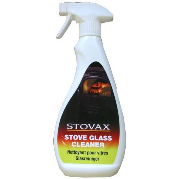 glass stove top cleaner stovax stove glass cleaner 12614