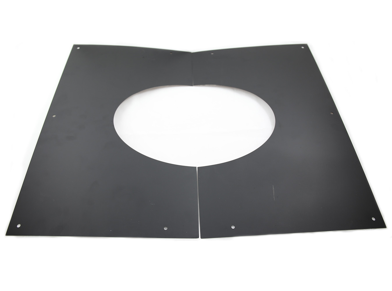 6 Inch Black Twin Wall Decorative Wall Ceiling Plate