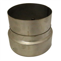 6 inch Adaptor Vitreous Enamel Flue to Flexi Flue Collar