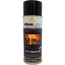 Stove-Care Spray Paint (400ml Aerosol) - Flat Black (Single)