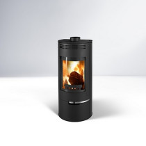 Thorma Andorra 7.5 kW Wood Burning Stove - Black