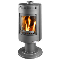 Thorma Andorra Exclusive 5 kW Smoke Exempt Multi Fuel Wood Burning Stove