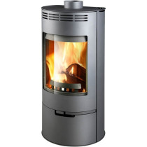 Thorma Andorra 5 kW Grey Smoke Exempt Multi Fuel Wood Burning Stove