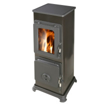 Thorma Bozen 5 kW Black Multi Fuel Wood Burning Stove