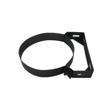 5 inch Black Twin Wall Wall Bracket