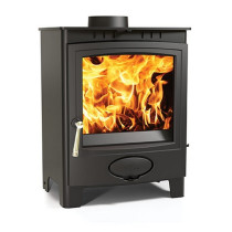 Aarrow Ecoburn Plus 7 kW Flexifuel Multi Fuel Wood Burning Stove