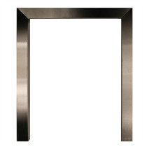 "16"" x 2"" Frame - Brushed Steel"