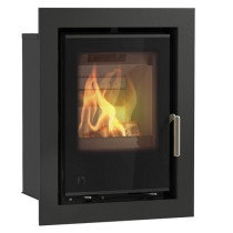 Arada Aarrow i400 4.9 kW Flexifuel Multi Fuel Wood Burning Stove Black