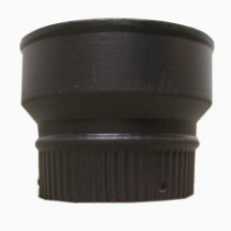6 inch to 7 inch Black Flue Increaser