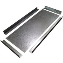 Blank Galvanised Register Plate Kit