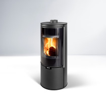 Thorma Toledo Black Steel Stove