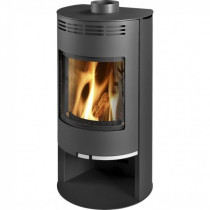 Thorma Zaragoza 5 kW Black Smoke Exempt Wood Burning Stove