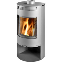 Thorma Zaragoza 5 kW Grey Smoke Exempt Wood Burning Stove