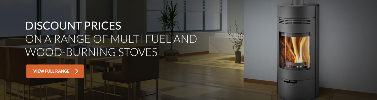 Discount prices on a range of multi fuel and wood-burning stoves